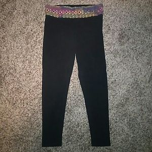 PINK SKINNY YOGA PANTS